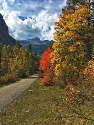 Hautes Alpes en automne