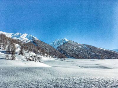 Le Queyras sous la neige