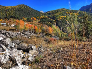 Indian summer in the Queyras