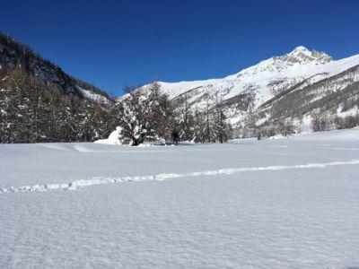 Image hivernale du Queyras