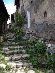 Une ruelle à la Font d'Eygliers