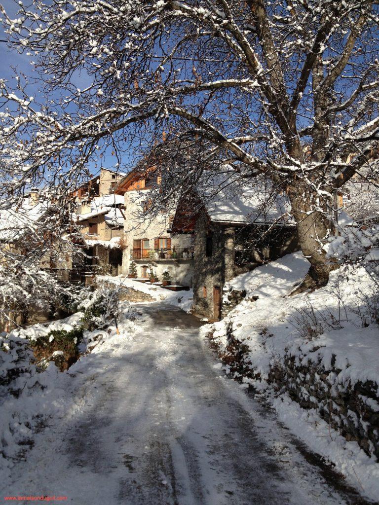 Paysages d'hiver, La beauté de l'hiver dans les Hautes Alpes