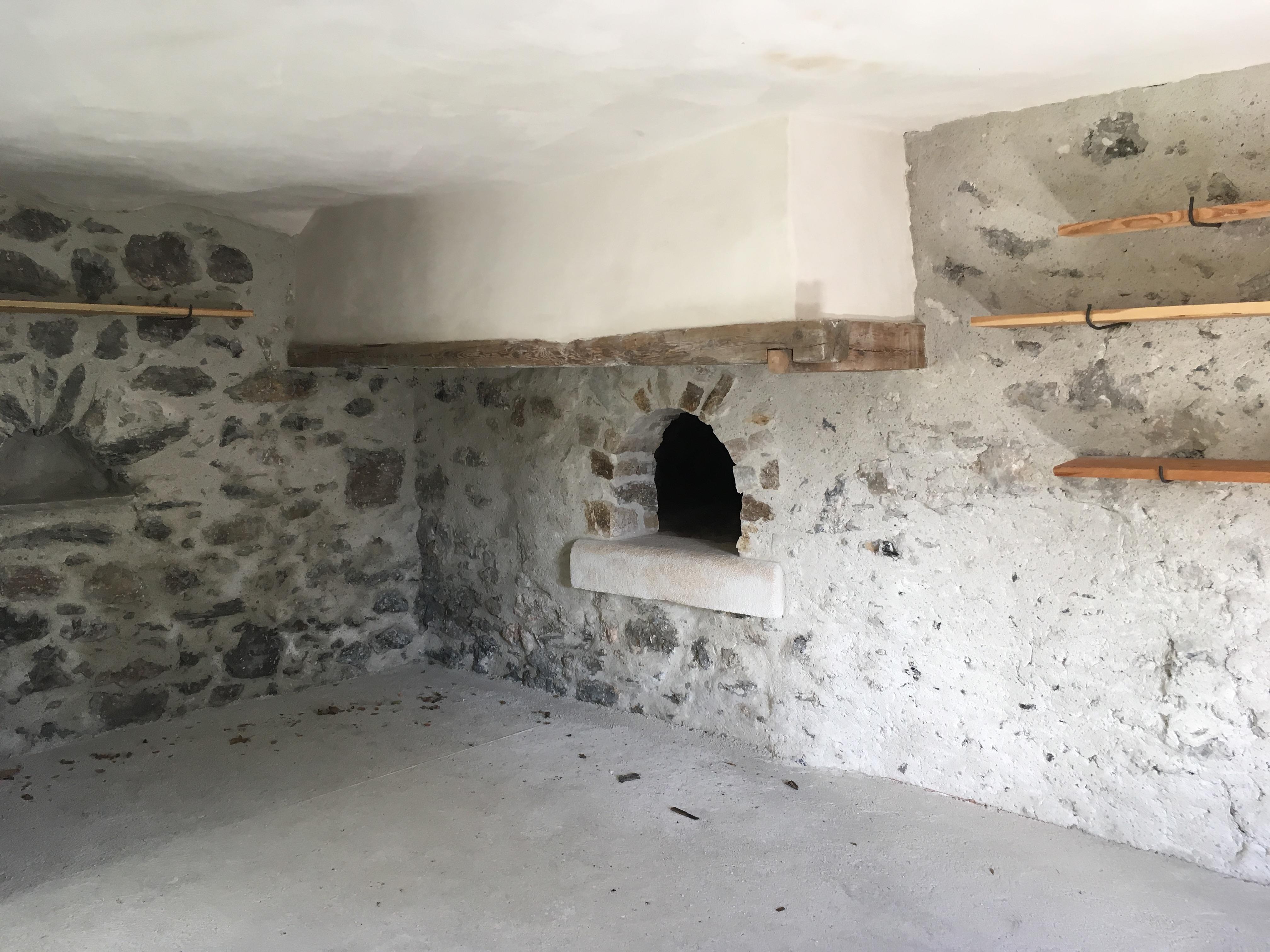Le four banal après rénovation