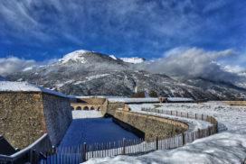 Mont Dauphin en hiver